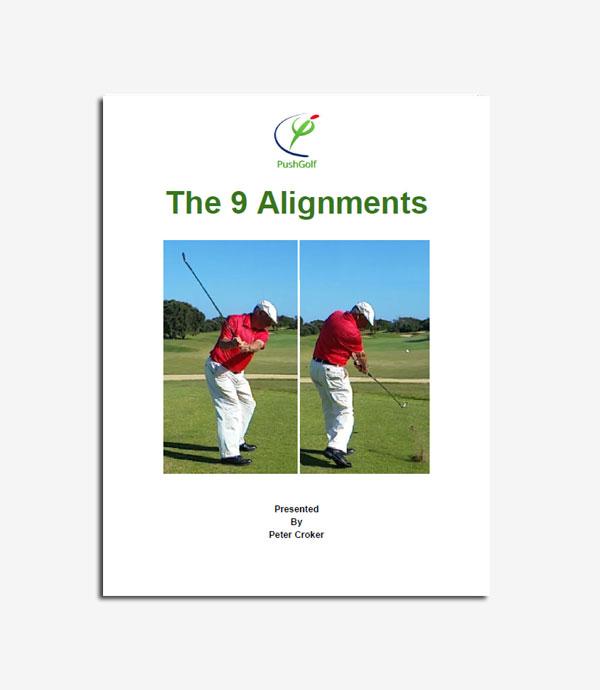 9 alignments push golf